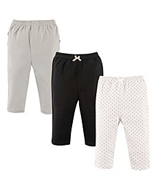 Pants with Ruffles, 3-Pack, 0-24 Months