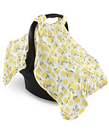 Muslin Car Seat Canopy, One Size