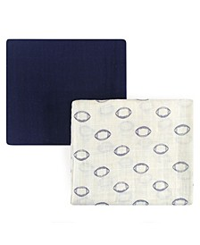 Muslin Swaddle Blanket, 2-Pack, One Size
