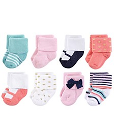Terry Socks, 8-Pack, 0-12 Months
