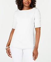 87fae0b0aada42 boat neck tops - Shop for and Buy boat neck tops Online - Macy's