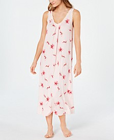 Lace-Trim Knit Nightgown, Created for Macy's