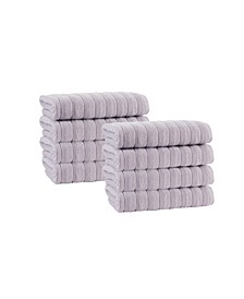 Vague 8-Pc. Wash Towels Turkish Cotton Towel Set