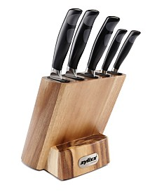 DKB HOUSEHOLD USA CORP Zyliss Control Kitchen Knife 6-Piece Set with Block
