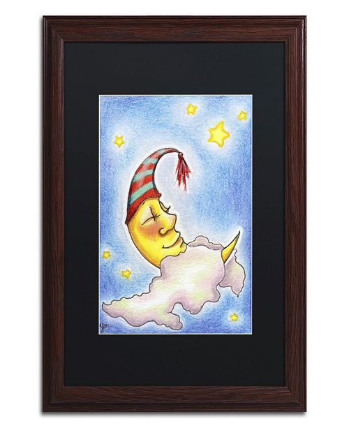 "Trademark Global Jennifer Nilsson Sweet Dreams to You Matted Framed Art - 11"" x 14"" x 0.5"""