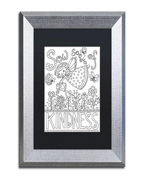 "Trademark Global Jennifer Nilsson Sow Seeds Matted Framed Art - 11"" x 14"" x 0.5"""