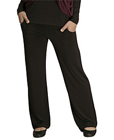 YALA Kayla Viscose from Bamboo Fold-Over Waist Lounge Pant