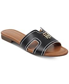 abbe585d6f0967 Tommy Hilfiger Sugari Flat Sandals