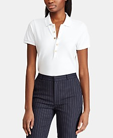 Lauren Ralph Lauren Petite Stretch Polo