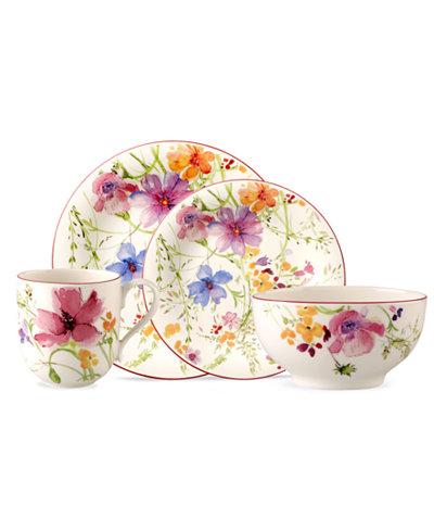 Villeroy & Boch Dinnerware, Mariefleur Collection