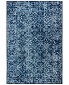 "BB Rugs Alexa ALX-48 Navy 5'3"" x 7'6"" Area Rug"