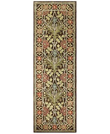 "BB Rugs Dijay DJY-102 Chocolate 2'6"" x 8' Runner Area Rug"
