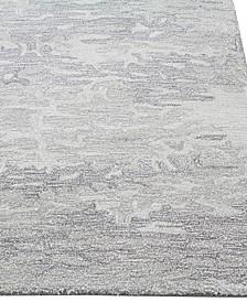 "Elements ELM-217 Grey 5' x 7'6"" Area Rug"
