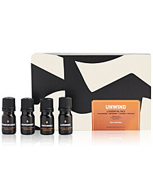 Way Of Will 4-Pc. Unwind Essential Oils Set