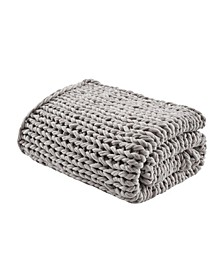 "Chunky Double Knit 50"" x 60"" Handmade Throw"