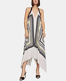 BCBGMAXAZRIA Asymmetrical A-Line Dress