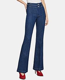 BCBGMAXAZRIA Flare-Leg Jeans