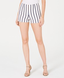 GUESS Kairi Metallic Striped Shorts