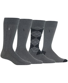 Polo Ralph Lauren Men's 4-Pk. Dress Socks