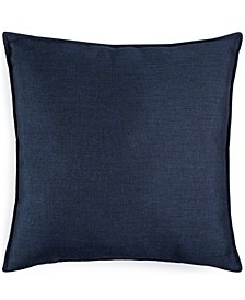 "CLOSEOUT! Jetrich Canada Solid Navy 20"" x 20"" Decorative Pillow"