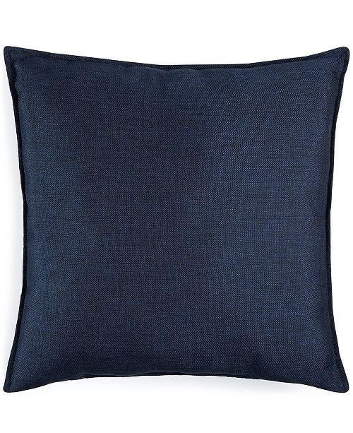 "Kensington Garden CLOSEOUT! Jetrich Canada Solid Navy 20"" x 20"" Decorative Pillow"