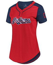 Majestic Women's Cleveland Indians League Diva T-Shirt