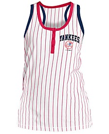 Women's New York Yankees Pinstripe Tank Top