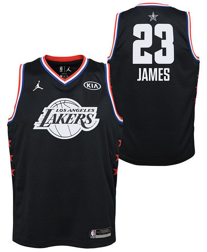 Outerstuff Big Boys Lebron James Los Angeles Lakers All Star ...