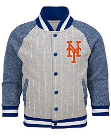 Outerstuff Toddlers New York Mets Game Pride Bomber Jacket