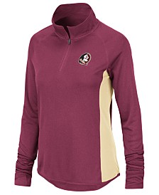 Colosseum Women's Florida State Seminoles Albi Quarter-Zip Pullover