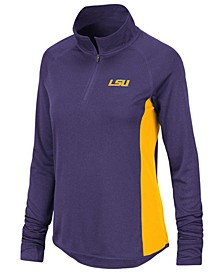 Women's LSU Tigers Albi Quarter-Zip Pullover