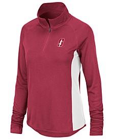 Women's Stanford Cardinal Albi Quarter-Zip Pullover