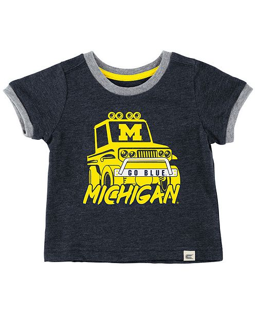 Colosseum Baby Michigan Wolverines Monster Truck T-Shirt