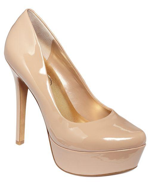 9bb132cd8ed4 Jessica Simpson Waleo Platform Pumps   Reviews - Pumps - Shoes - Macy s