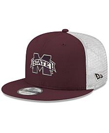 New Era Mississippi State Bulldogs TC Meshback Snapback Cap