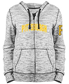 Women's Pittsburgh Pirates Space Dye Hoodie