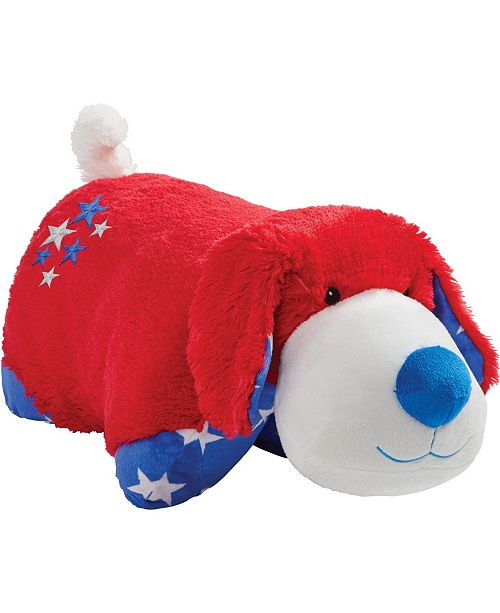 Pillow Pets Americana Puppy Stuffed Animal Plush Toy