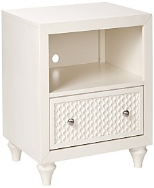 "Amanda 23"" 1 Drawer Night Stand"