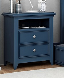 """Bailey 25"""" 2 Drawer Night Stand"""