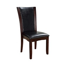 Contemporary Manhattan Side Chair with PU - Set Of 2