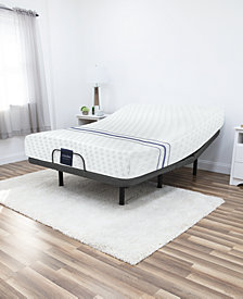 "MacyBed 12"" Plush Memory Foam Mattress , Quick Ship, Mattress in a Box - Twin XL with Remote Controlled Adjustable Base"