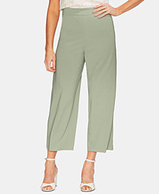 Vince Camuto High-Waist Cropped Wide-Leg Pants