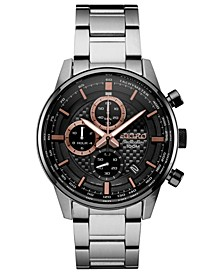 Men's Chronograph Stainless Steel Bracelet Watch 42.7mm