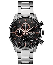 Men's Chronograph Stainless Steel Bracelet Watch 42.7mm