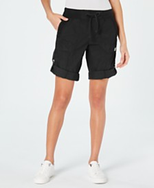 Calvin Klein Performance Convertible Cargo Shorts