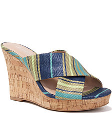 CHARLES by Charles David Latrice Platform Wedge Sandals