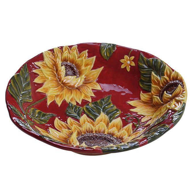 Certified International Sunset Sunflower Serving Bowl