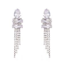 Nina Cupchain Fringe Earrings