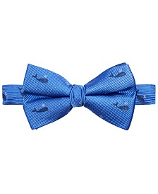 Lauren Ralph Lauren Big Boys Preppy The Whale Silk Bow Tie