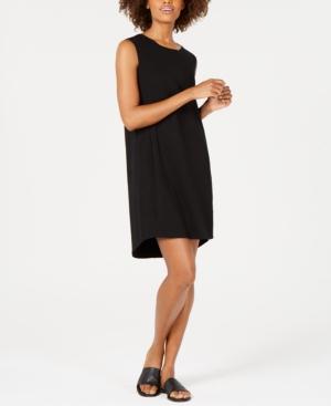 Eileen Fisher Dresses COTTON SCOOP-NECK DRESS